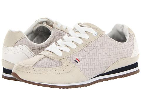 Adidasi Tommy Hilfiger - Rama - White & Grey/Shell Bright & White