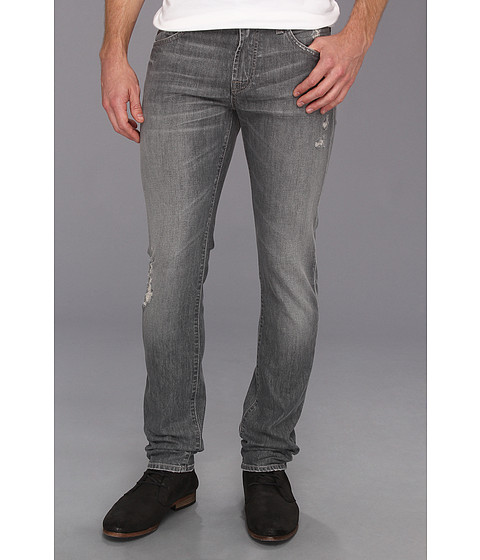 Blugi 7 For All Mankind - Paxtyn in Grey Distressed - Grey Distressed