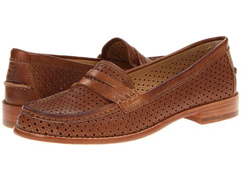 Pantofi Frye - Dalia Perf Penny - Tan Vintage Veg Tan