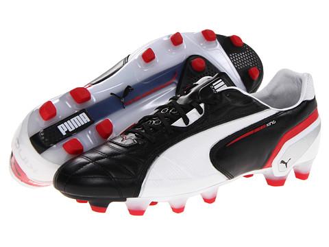 Adidasi PUMA - King FG - Black/White/Ribbon Red