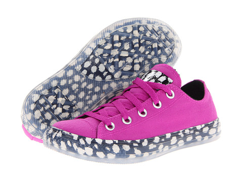 Adidasi Converse - Chuck Taylorî All Starî Animal Print Bright Ox - Purple Cactus Flower