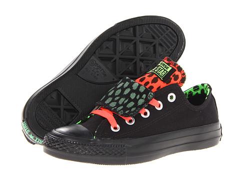 Adidasi Converse - Chuck Taylorî All Starî Kriss N Kross Double Tongue Ox - Black/Black/Multi