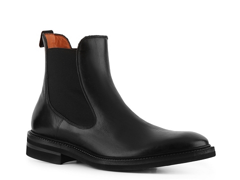 Ghete Santoni - Full Grain Leather Boot - Vintage Black