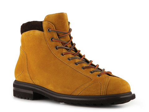Ghete Santoni - Suede Work Boot - Golden Harvest