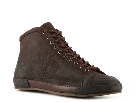 Ghete Santoni - Suede Mid Boot - Chocolate