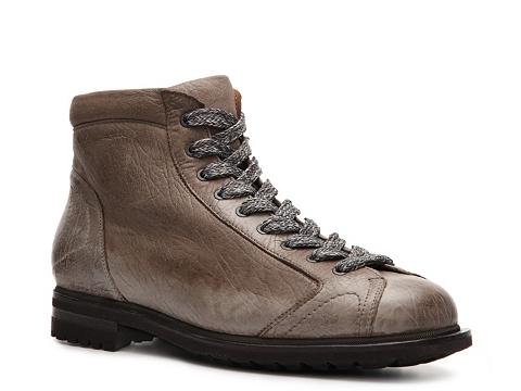 Ghete Santoni - Distressed Leather Boot - Stonewashed Brown