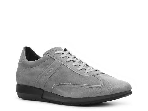 Pantofi Santoni - Suede Sneaker - Light Grey