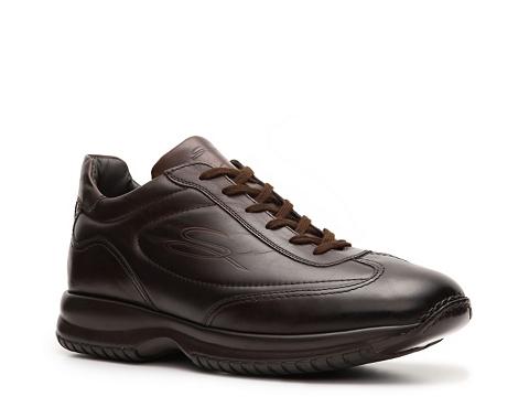 Pantofi Santoni - Leather Sneaker - Espresso