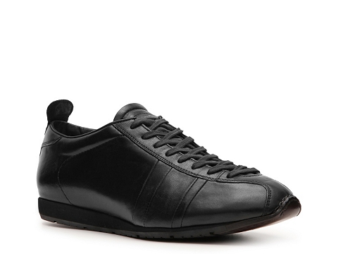 Pantofi Santoni - Leather Sport Sneaker - Black
