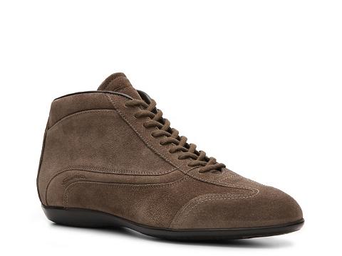 Pantofi Santoni - Suede Sneaker - Light Brown