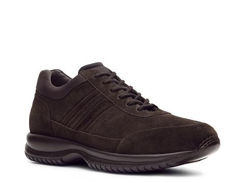 Pantofi Santoni - Suede Sneaker - Chocolate Brown