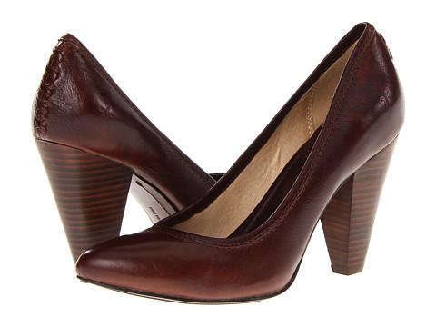 Pantofi Frye - Regina High Heel - Dark Brown Soft Vintage Leather