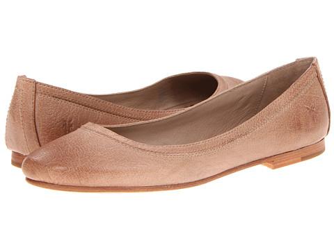 Balerini Frye - Carson Ballet - Beige Antique Soft Full Grain