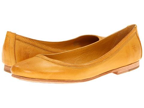 Balerini Frye - Carson Ballet - Yellow Antique Soft Full Grain