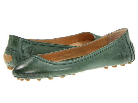 Balerini Frye - Cassie Ballet - Green Antique Soft Full Grain