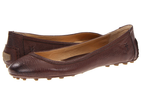 Balerini Frye - Cassie Ballet - Dark Brown Antique Soft Full Grain
