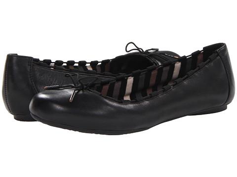 Balerini Dr. Scholls - Fortunate - Black Leather
