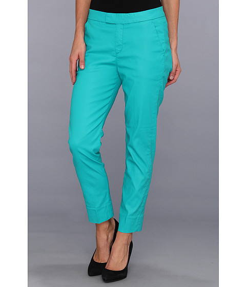 Pantaloni 7 For All Mankind - Slim Chino in Coated Tropical Green - Coated Tropical Green