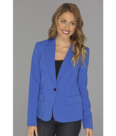 Sacouri Calvin Klein - 1 Button Blazer - Electric Blue