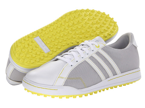 Adidasi adidas - W Adicross ll Mesh - Light Grey/White/Yellow Zest