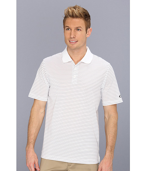 Tricouri Oakley - Ace Polo Stripe Polo - White