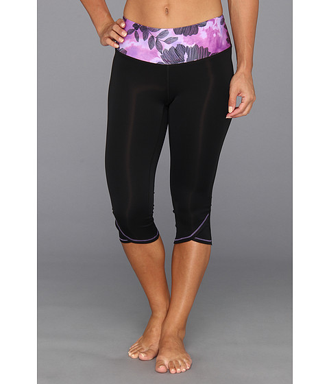 Pantaloni New Balance - Knee Capri 1 - Purple Cactus Flower
