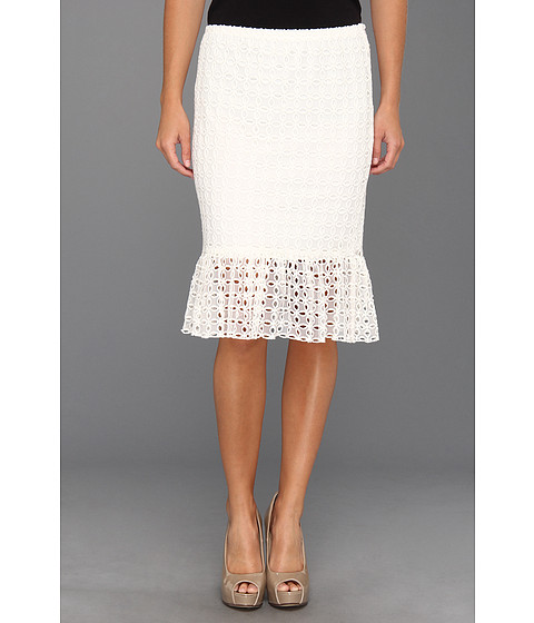 Fuste Christin Michaels - Karlee Skirt - Soft White