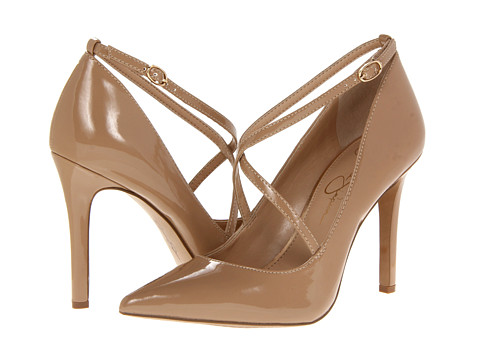Pantofi Jessica Simpson - Camela - Nude Patent PU