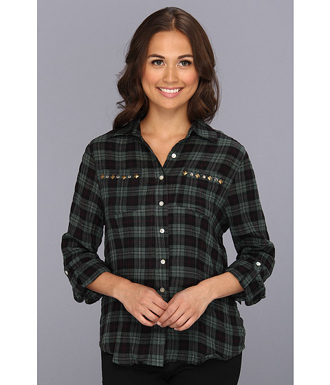 Bluze Gabriella Rocha - Pam Top - Green Plaid