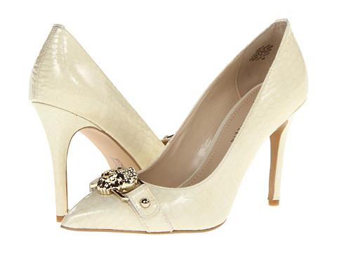 Pantofi Anne Klein New York - AKWyst - Ivory Patent