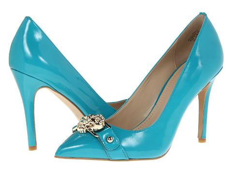 Pantofi Anne Klein New York - AKWyst - Turquoise Patent