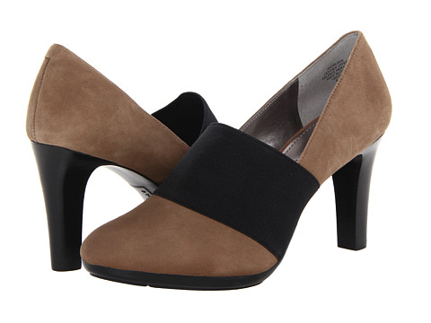 Pantofi Anne Klein New York - Caileen - Taupe/Black