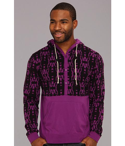 Bluze Volcom - Inkat Henley L/S Top - Vibrant Purple