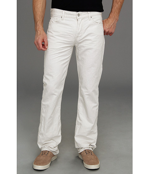 Blugi 7 For All Mankind - Standard in Summer Linen - Sidewalk Grey