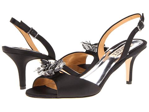 Pantofi Badgley Mischka - Clare - Black Satin