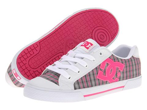 Adidasi DC - Chelsea W - White/Crazy Pink Plaid