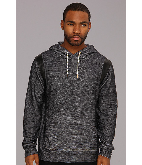 Bluze ECKO - Dark Twisted Slub Hoodie - Black