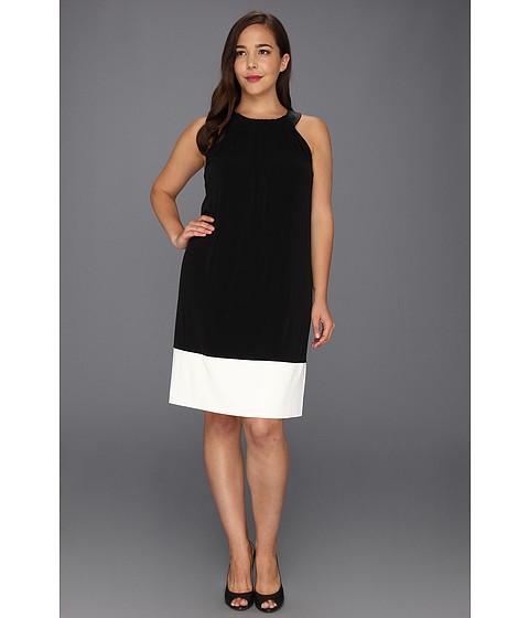 Rochii Calvin Klein - Plus SizeTrapunto Dress - Black
