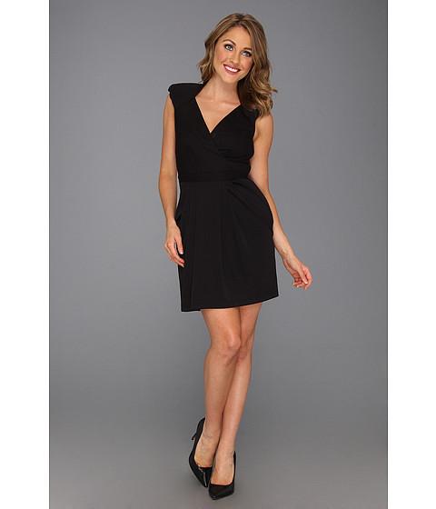 Rochii ABS Allen Schwartz - Accentuated Shoulder Dress - Black