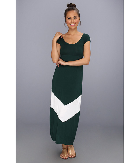 Rochii Gabriella Rocha - Game Day Maxi - Green/White