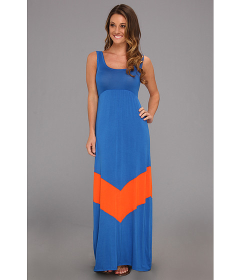 Rochii Gabriella Rocha - Game Day Tank Maxi - Royal/Orange