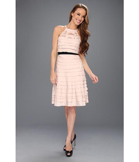Rochii BCBGMAXAZRIA - Madison Ruffle Tier Halter Dress - Bare Pink