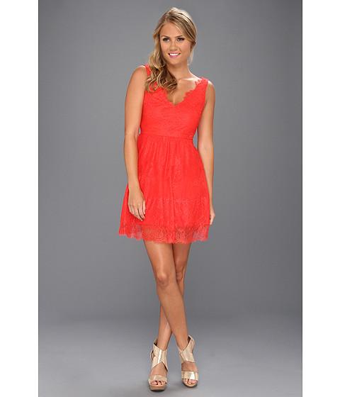 Rochii BCBGMAXAZRIA - Willa Knit Evening Cocktail Dress - Bright Poppy