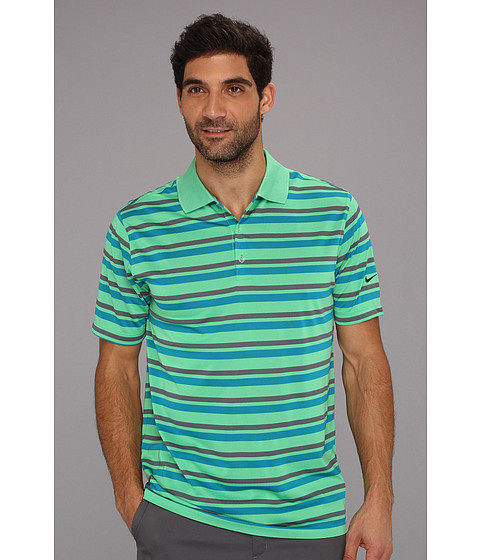 Tricouri Nike - Ultra Stripe Polo 2.0 - Gamma Green