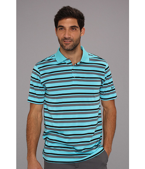 Tricouri Nike - Ultra Stripe Polo 2.0 - Gamma Blue
