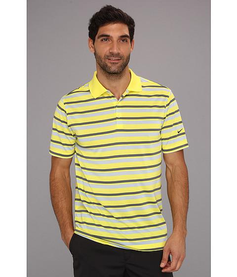 Tricouri Nike - Ultra Stripe Polo 2.0 - Sonic Yellow