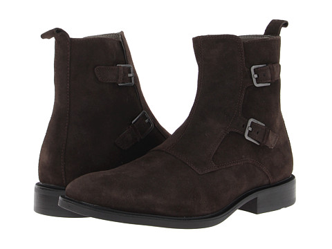 Ghete Calvin Klein - Richard - Dark Brown Suede