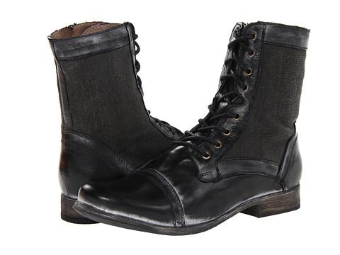 Ghete Steve Madden - Trackker - Black Leather