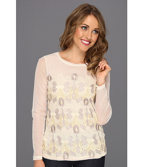 Bluze NIC+ZOE - Embroidered Lace Top - Multi