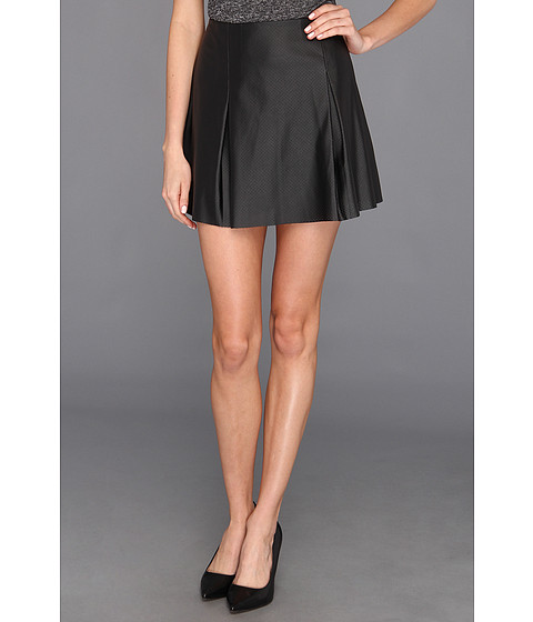 Fuste BCBGeneration - Pleated Short Skirt - Black